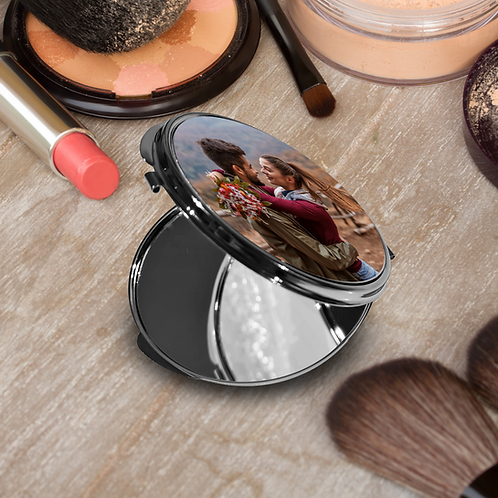 Photo Round Compact Mirror - Your Picture