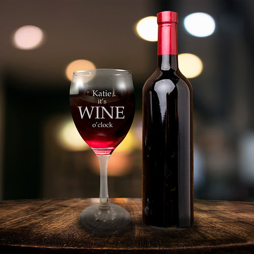 Red Wine Glass - Wine O'clock