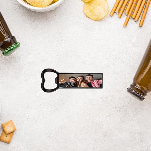 Personalised Fridge Magnet And Bottle Opener