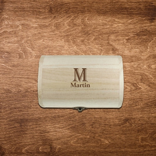Personalised Wooden Chest
