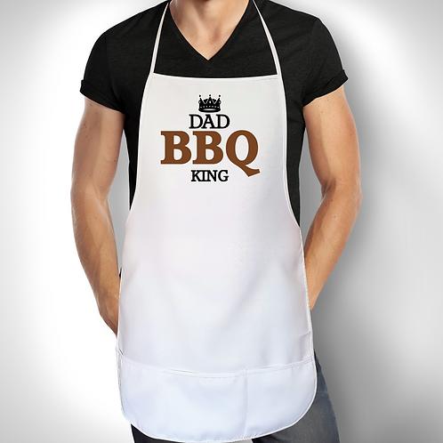Personalised Apron - BBQ KING