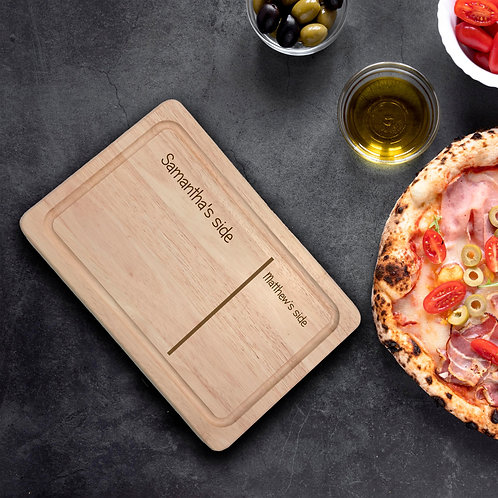 Personalised Rectangle Chopping Board - Sides