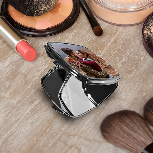 Photo Square Compact Mirror - Your Picture