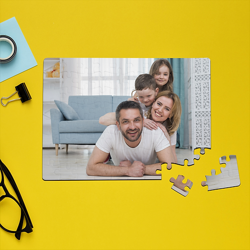 Personalised Jigsaw Puzzle With Your Own Photo
