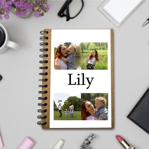 Personalised ECO Notebook - Photo Collage