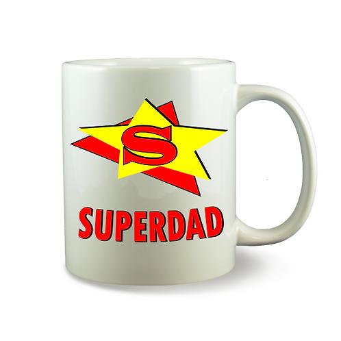 Personalised Mug - SUPERDAD