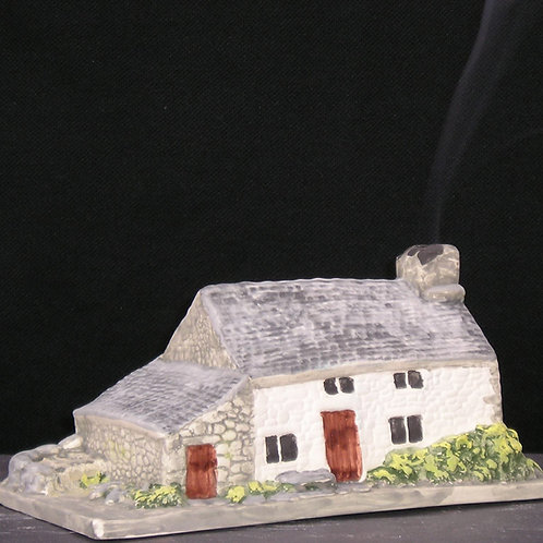 Welsh Smoking Cottage - Incense Burner