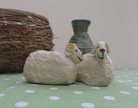 Mr and Mrs Sheep