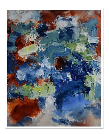 """Peinture. Huile sur toile.  24X20"""""""