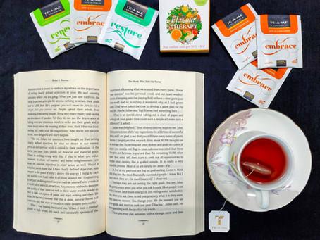 Reviewing the Apple Cinnamon Tea by TE-A-ME teas!