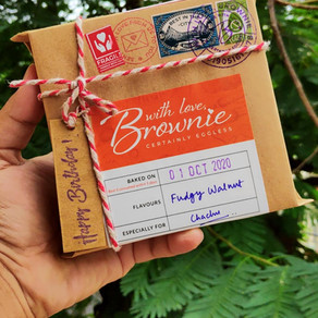 Journey of the best eggless fudge brownie specialists in Kolkata- With Love Brownie.