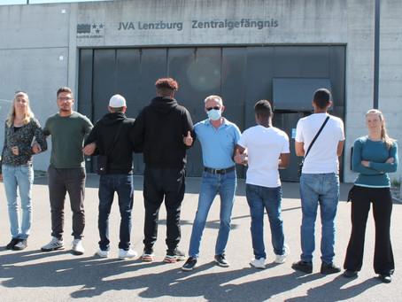 Unser erster Projekttag mit Jugendlichen in der JVA Lenzburg