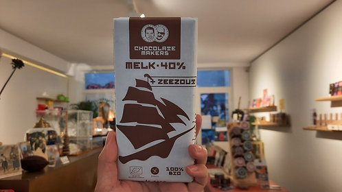 Milk & Sea Salt - Tres Hombres Chocolate