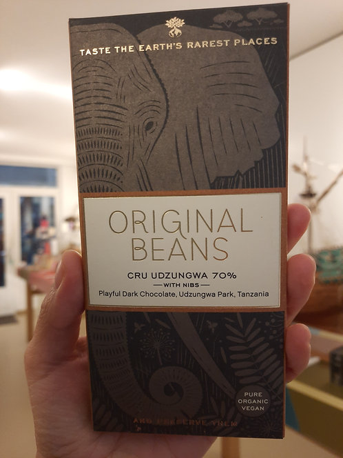 Tanzania 70% single origin chocolate