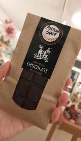 Black Pepper Chocolate, Amsterdam Made