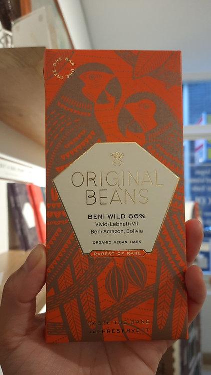 'Hints of Honey' 66% dark Bolivian Chocolate