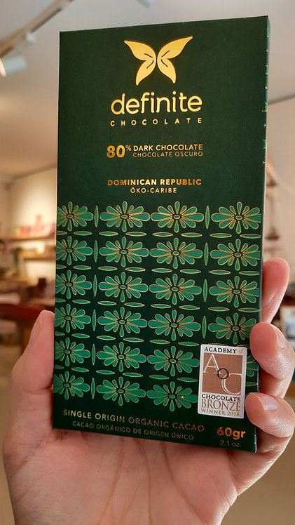 80% dark - Dominican Chocolate