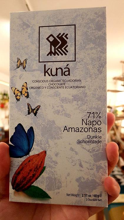 Premium Ecuadorian chocolate, 71% cacao