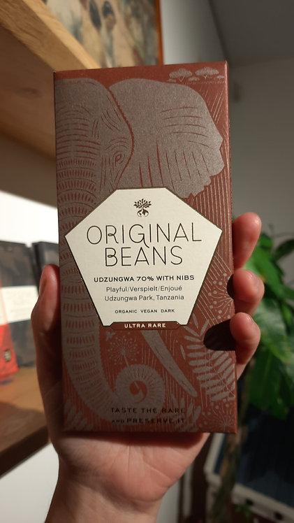 Tanzania 70% single origin chocolate