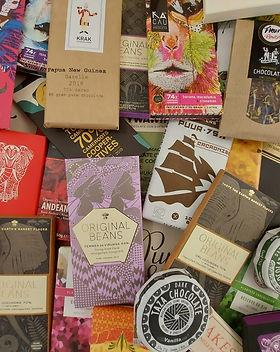 Chocolate chocolate chocolate - pile!