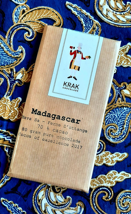 SALE - made in Holland: MADAGASCAR single origin chocolate