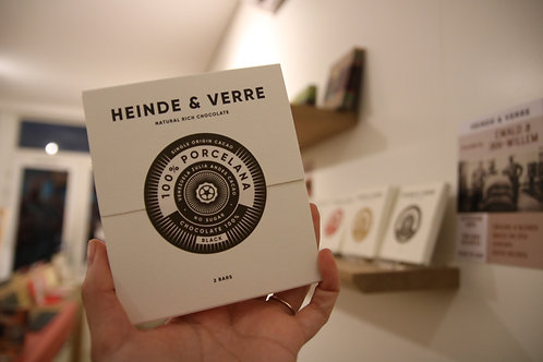 100% Cacao Bar - Made in Holland, Heinde & Verre