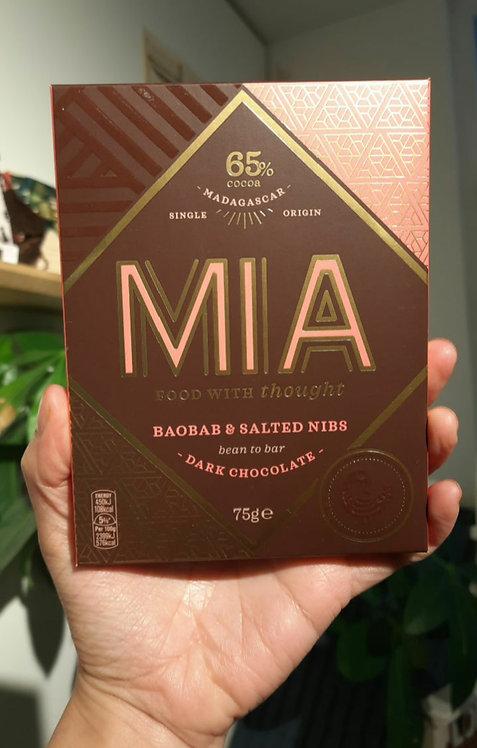 New: Baobab Madagascar Dark Chocolate Bar - MIA