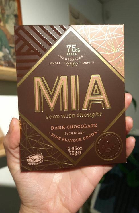 75% Madagascar Dark Chocolate Bar- MIA