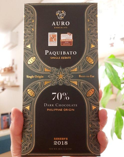 Paquibato - Single origin 70% Dark Chocolate