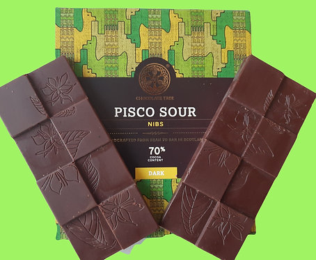 Pisco Sour Chocolate Bar