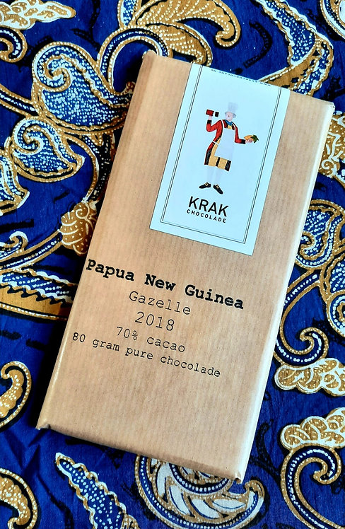 SALE - made in Holland: PAPUA single origin chocolate
