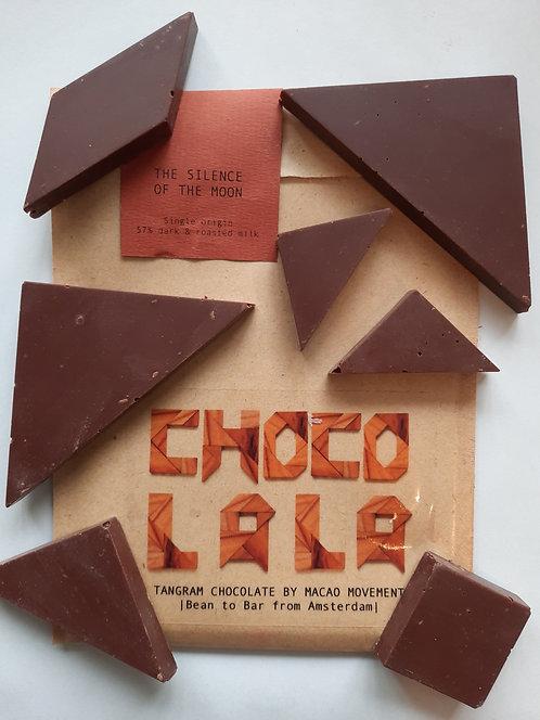 'Roasted' milk chocolate - Amsterdam made