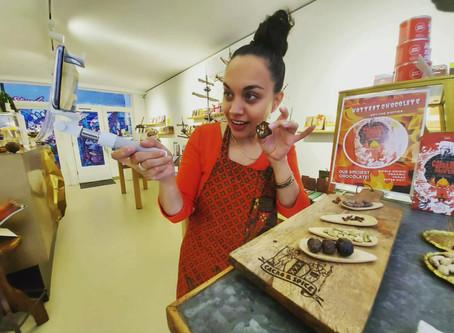 Online Chocolate Tasting - online chocolade proeverij > Coronaproof uitje!