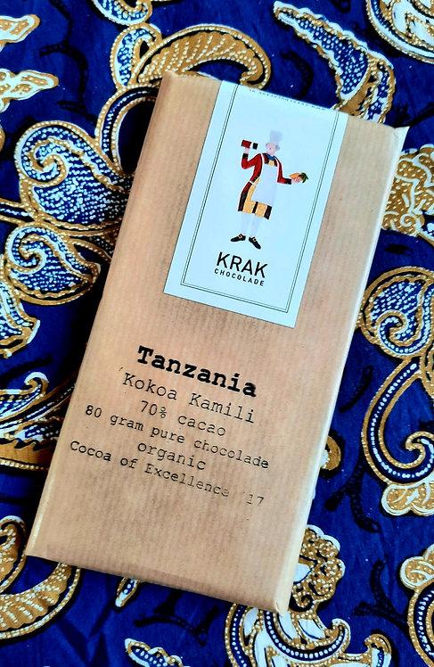 Made in Holland: TANZANIA single origin chocolate