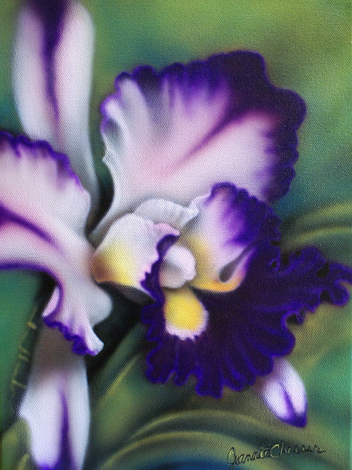 Purple Orchid Painting