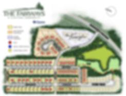 Fairways Colour Plan- with Sales Dots (N
