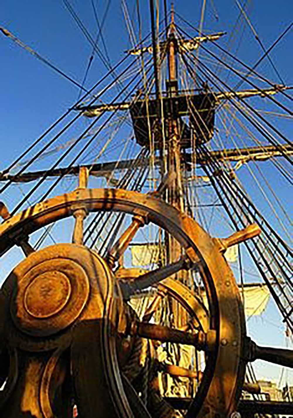helmsmen steer ships