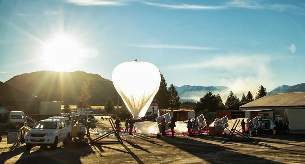 Project Loon planetary wifi system in practice in New Zealand