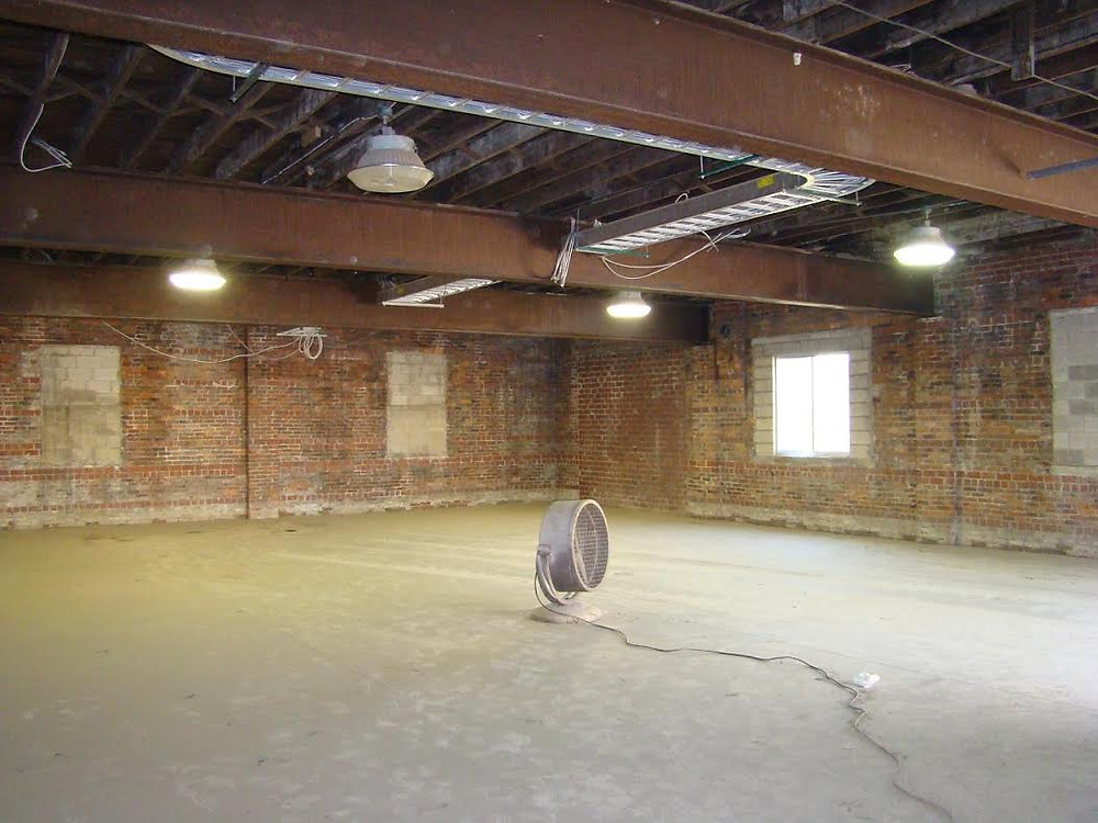 our original space at the Millworks Arts Complex