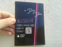 The Juicy Juice official flyer