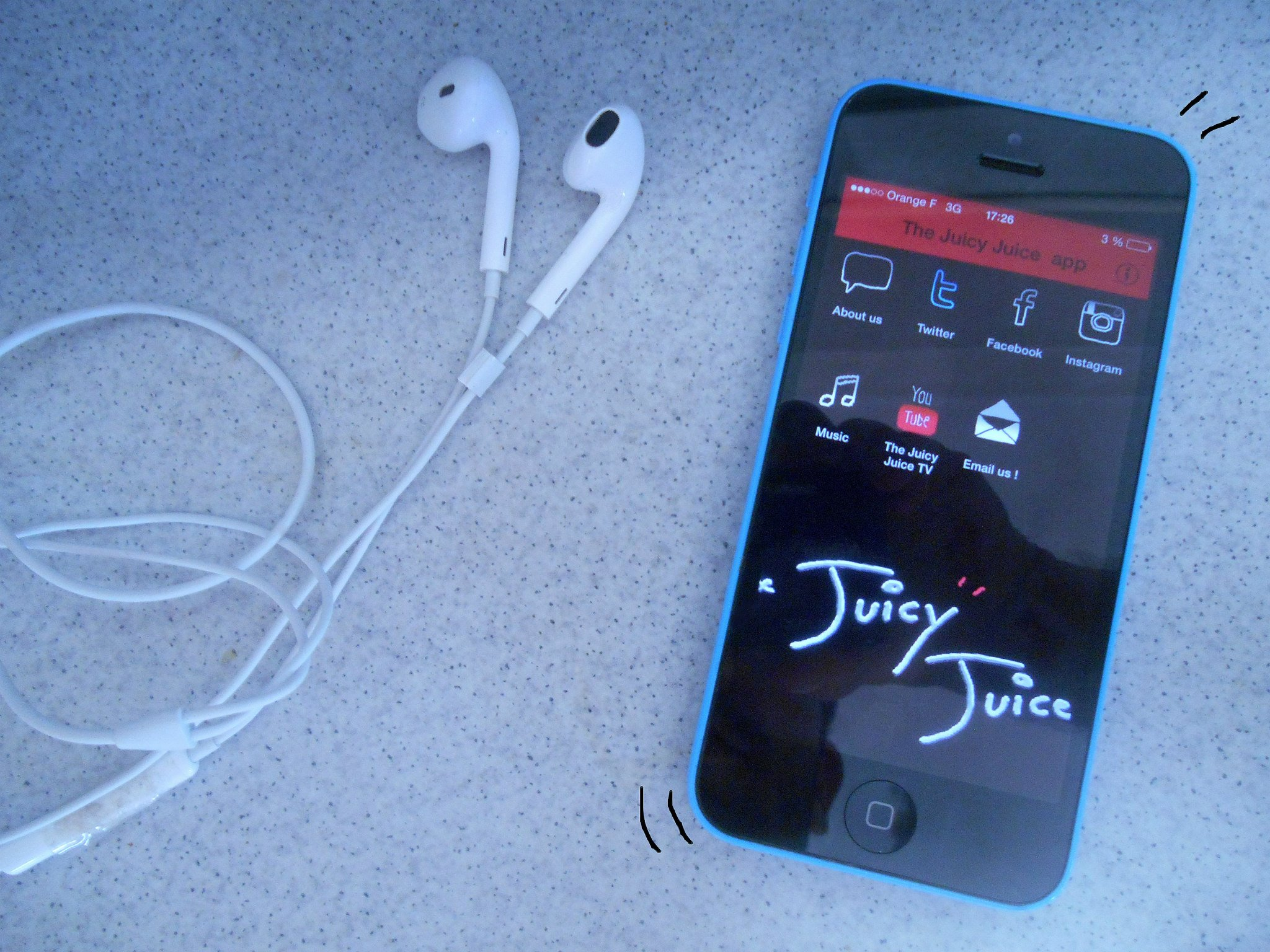 The Juicy Juice app