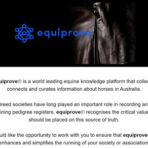 equiprove working with Breed Societies and Associations