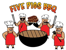 Five Pigs BBQ logo