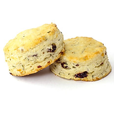 Rosemary, White Cheddar & Cranberry Biscuits