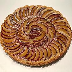 Plum Almond Tart