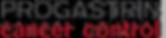 logo PROGASTRIN cancer control 8,85x1,58