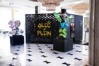 Philipp Plein + Alec Monopoly at the Fontainebleau