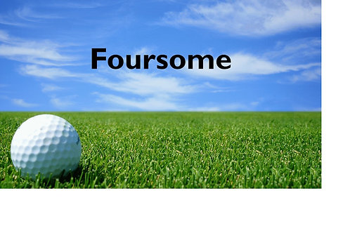 Foursome Golf Tournament Package (paid after 7/16/18)