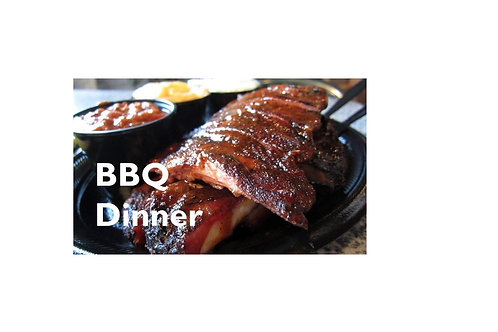 BBQ Dinner & Silent Auction Only