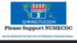 Support NUHECDC on Giving Tuesday Dec 3